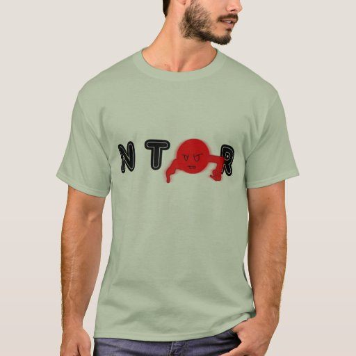 Individuo del rojo de NTOR Playera