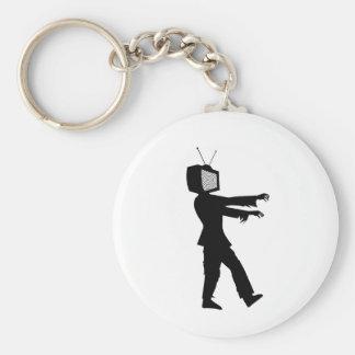 Individuo del zombi TV de Chillee Wilson Llaveros Personalizados