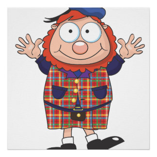 Individuo escocés póster