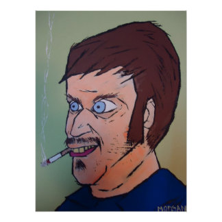 Individuo espeluznante póster