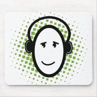 Individuo feliz de DJ Alfombrilla De Raton