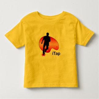 individuo gráfico del iTap de iPod T-shirt