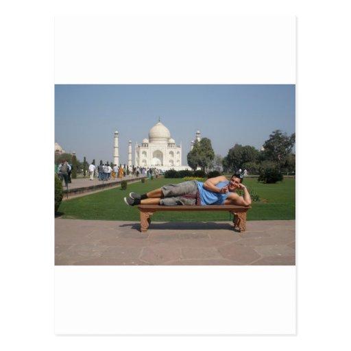 Individuo grande en la India Tarjetas Postales