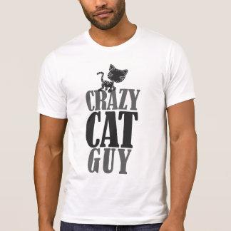 Individuo loco del gato remera