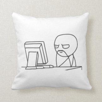 Individuo Meme - almohada del ordenador