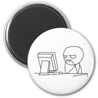 Individuo Meme - imán del ordenador