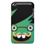 individuo nerdy de la cara del friki del bigote di iPod touch Case-Mate protectores