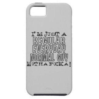 Individuo normal iPhone 5 carcasas