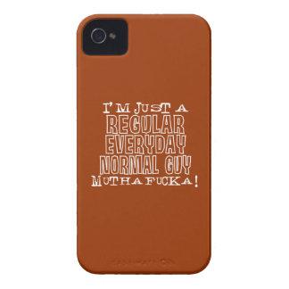 Individuo normal iPhone 4 Case-Mate coberturas