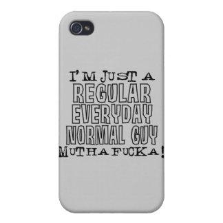 Individuo normal iPhone 4 carcasa