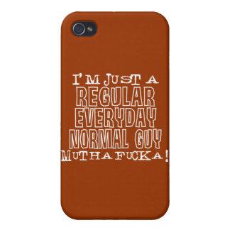Individuo normal iPhone 4/4S carcasas