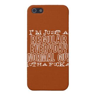 Individuo normal iPhone 5 cárcasas