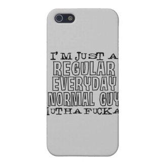 Individuo normal iPhone 5 funda
