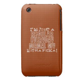 Individuo normal funda para iPhone 3 de Case-Mate