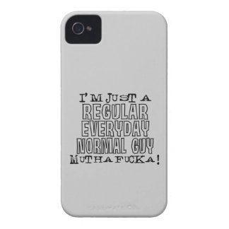 Individuo normal funda para iPhone 4 de Case-Mate