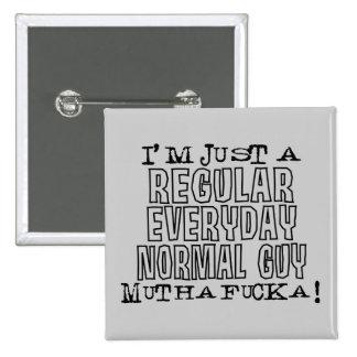 Individuo normal pin cuadrado