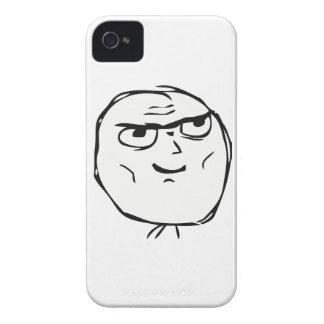 Individuo resuelto Meme - Blackberry 9700/9780 iPhone 4 Case-Mate Cárcasa