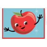 Individuo retro de Apple Tarjeta