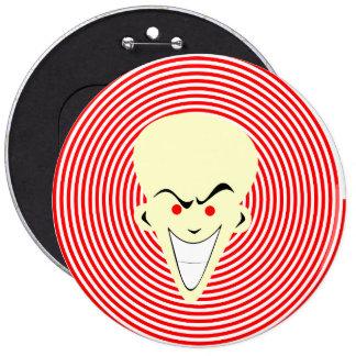Individuo retro grande de Hypnotizer de la ilusión Pin Redondo 15 Cm