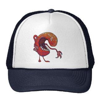 Individuo rojo gorra