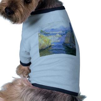 Individuo Rose Vista del punto Lobos Camisetas De Mascota