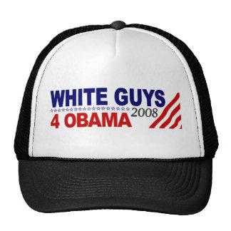 Individuos blancos 4 Obama Gorro De Camionero