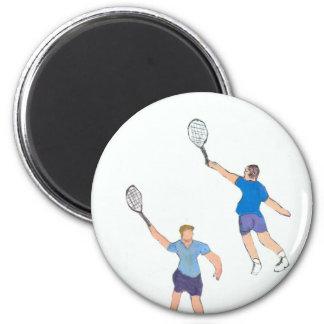 individuos del tenis imanes para frigoríficos