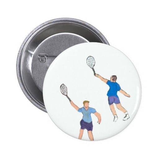 individuos del tenis pin