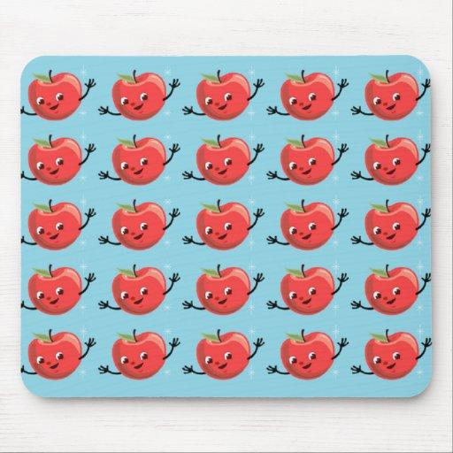 Individuos retros de Apple Alfombrilla De Ratón