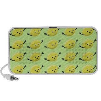 Individuos retros del limón iPhone altavoz