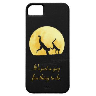 Individuos y la Luna Llena Funda Para iPhone SE/5/5s