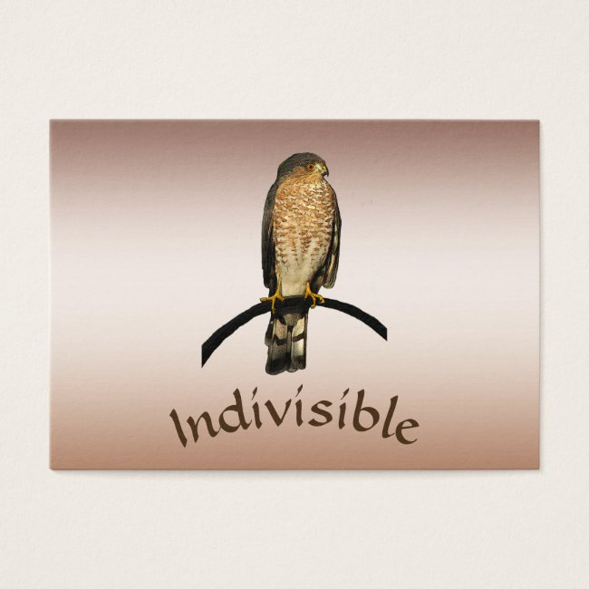 Indivisible Brown Hawk ATC
