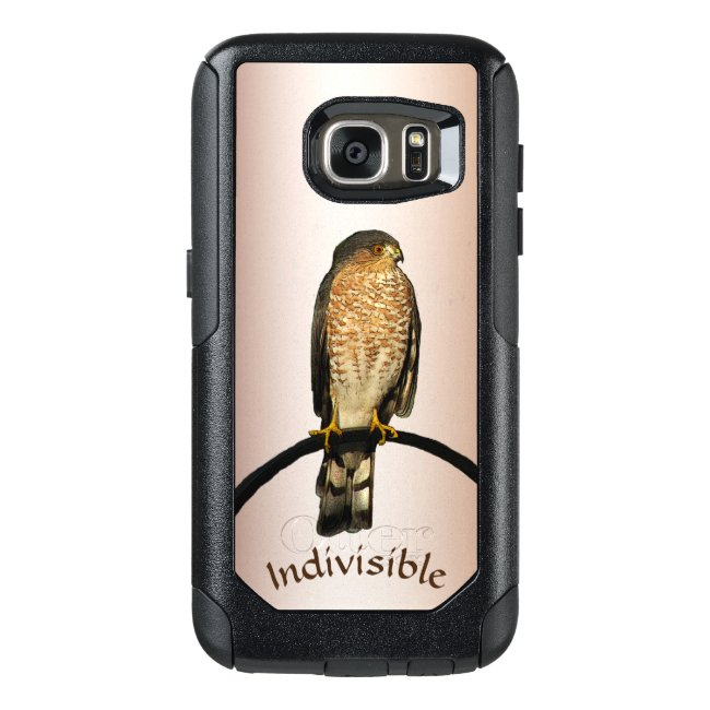 Indivisible Brown Hawk OtterBox Galaxy S7 Case