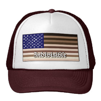 Indivisible Flag Trucker Hat