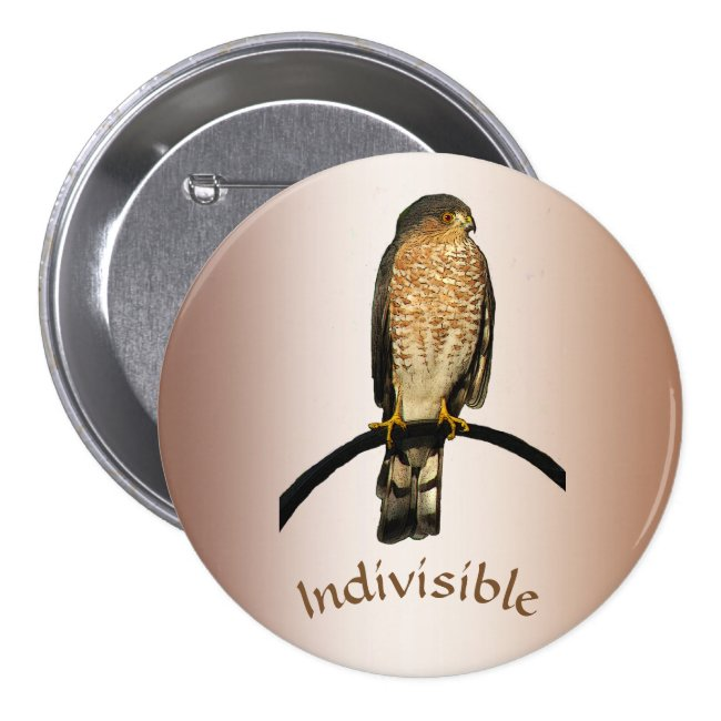 Indivisible Hawk Button