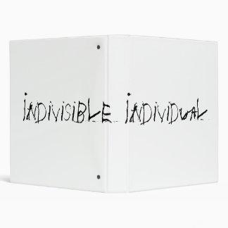 Indivisible Individual Binder