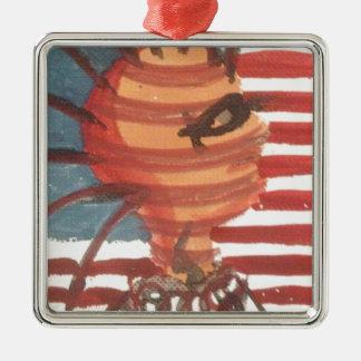 indivisible metal ornament
