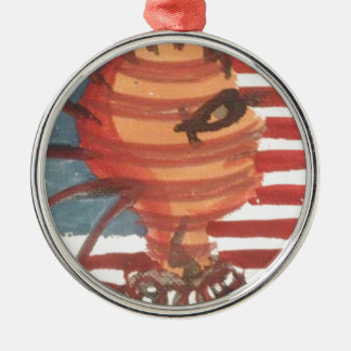 indivisible metal ornament
