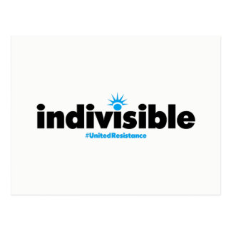 Indivisible Postcard