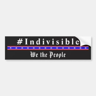 INDIVISIBLE - We The People Bumper Sticker