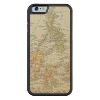 Indo china and Malaysian Archipelago Carved® Maple iPhone 6 Bumper Case