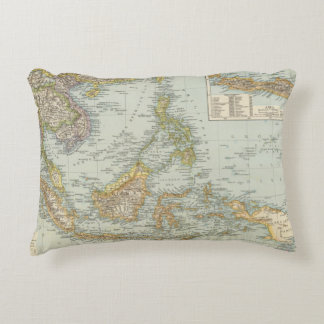 Indo china and Malaysian Archipelago Accent Pillow
