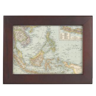 Indo china and Malaysian Archipelago Memory Box