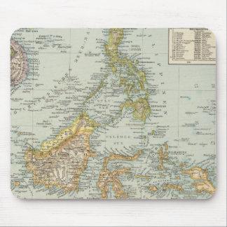 Indo china and Malaysian Archipelago Mouse Pad