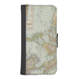 Indo china and Malaysian Archipelago iPhone 5 Wallet