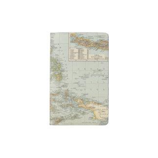 Indo china and Malaysian Archipelago Pocket Moleskine Notebook