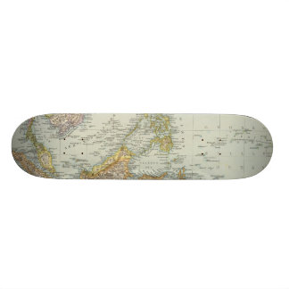 Indo china and Malaysian Archipelago Skateboard Deck