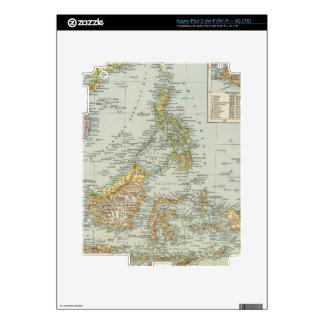 Indo china and Malaysian Archipelago Skins For iPad 3
