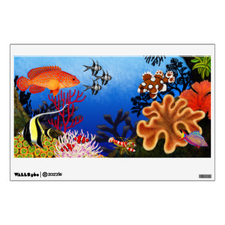 Indo Pacific Coral Reef Fish Wall Decor