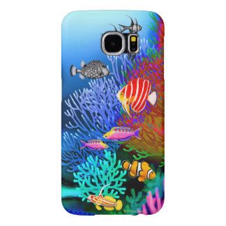 Indo Pacific Coral Reef Samsung Galaxy S6 Case Samsung Galaxy S6 Cases